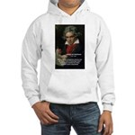 Classical Music: Beethoven Hooded Sweatshirt