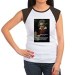 Classical Music: Beethoven Women's Cap Sleeve T-Sh