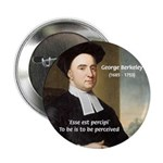 "Philosopher: George Berkeley 2.25"" Button (100 pac"