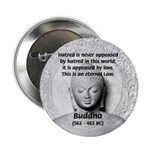 """Buddhism Philosophy of Love 2.25"""" Button (100 pack"""