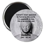 """Buddhism Philosophy of Love 2.25"""" Magnet (100 pack"""