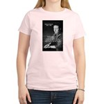 Simone De Beauvoir Women's Pink T-Shirt