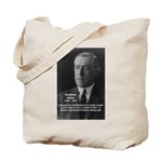 Woodrow Wilson Tote Bag
