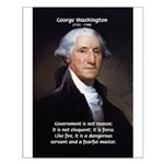 Politics: George Washington Small Poster