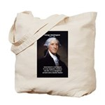 Politics: George Washington Tote Bag