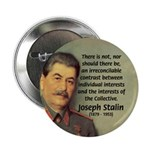 "Joseph Stalin 2.25"" Button (100 pack)"