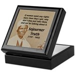 Feminist Sojourner Truth Keepsake Box