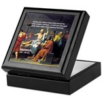 Socrates: Knowledge Books Wisdom Keepsake Box