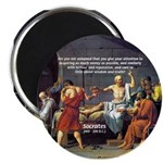 Truth and Wisdom: Socrates Magnet