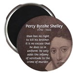 """Writer Percy Bysshe Shelley 2.25"""" Magnet (100 pack"""