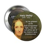 """Writer Mary Shelley 2.25"""" Button (10 pack)"""