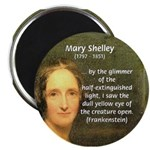 """Writer Mary Shelley 2.25"""" Magnet (10 pack)"""