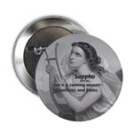 """Love / Lyric Poetry: Sappho 2.25"""" Button (100 pack"""