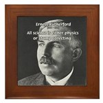 Nuclear Physics: Rutherford Framed Tile