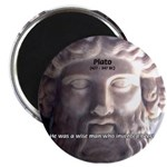 "Plato: Humour Beer Wisdom 2.25"" Magnet (10 pack)"