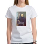 Louis Pasteur: Science Humanity Women's T-Shirt