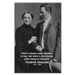 Nietzsche Love Madness Reason Large Poster