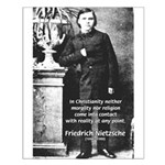 Critic of Religion: Nietzsche Small Poster
