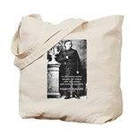 Critic of Religion: Nietzsche Tote Bag