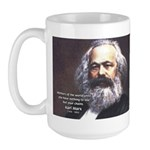 Union of Workers: Marx Large Mug