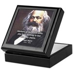 Union of Workers: Marx Keepsake Box