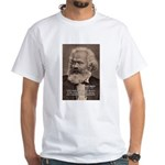 History Analyst Karl Marx White T-Shirt