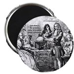 "God Unity of All: Leibniz 2.25"" Magnet (100 pack)"