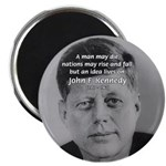 "Power of the Idea JFK 2.25"" Magnet (100 pack)"