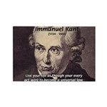 Universal Law: Kant Rectangle Magnet (100 pack)