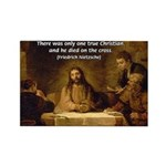 Christianity: Truth / Myth Rectangle Magnet (10 pa