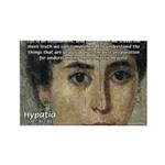 Wisdom of Greece: Hypatia Rectangle Magnet (10 pac