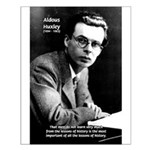 History Aldous Huxley Small Poster
