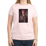 David Hume on Beauty Women's Pink T-Shirt