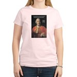 Christianity and David Hume Women's Pink T-Shirt