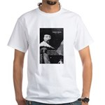 Philosopher Francis Bacon White T-Shirt