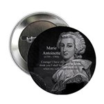 Courage Marie Antoinette Button