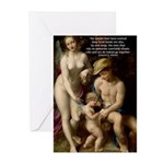 Wilson: Love Sex Correggio Greeting Cards (Package