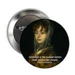 """Sexuality Feminism Goya 2.25"""" Button (100 pack)"""