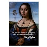 Mary Shelley Men / Women Large Poster