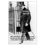 Churchill Fear of Truth Large Poster