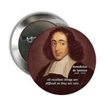 "Spinoza Ethics Philosophy 2.25"" Button (10 pack)"