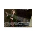 Isaac Newton Laws Motion Rectangle Magnet (100 pac