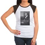 Goethe on Pure Thought Women's Cap Sleeve T-Shirt