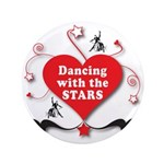 "Dancing with the Stars 3.5"" Button (100 pack)"
