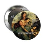 "Leonardo da Vinci Art Spirit 2.25"" Button (10 pack"