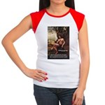 Leonardo da Vinci Quote Women's Cap Sleeve T-Shirt