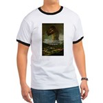 Goya Colossus Fantasy Quote Ringer T