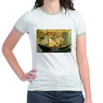French Painter Manet Quote Jr. Ringer T-Shirt