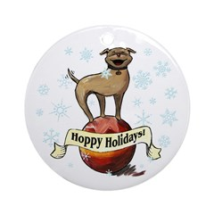New Tripawds Gift Shop Hoppy Holidays section includes three legged dog ornaments for adding tripawd cheer to any tree! On sale for a limited time.