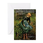 Pissarro Art of Impressions Greeting Cards (Packag